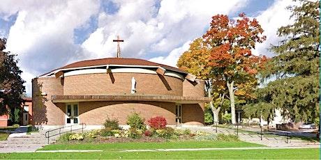 Sacred Heart Church Uxbridge -  Registration for Weekend Mass - April 2021 tickets