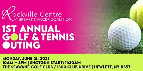RVCBCC GOLF & TENNIS FUNDRAISER tickets