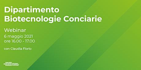 Dipartimento Biotecnologie Conciarie biglietti