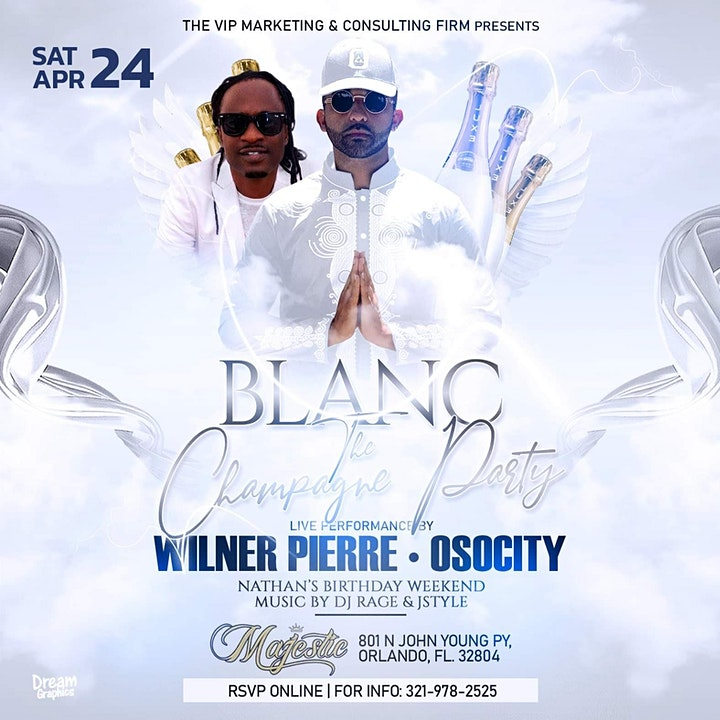 "BLANC ""The All White Champagne Party"" image"