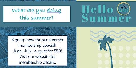 AfterCLASS Summer Membership Event tickets