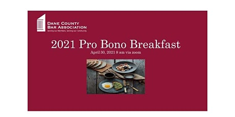 2021 Pro Bono Awards Breakfast  - Virtual! tickets