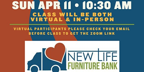 Pints and Poses - April, New Life Furniture Bank tickets