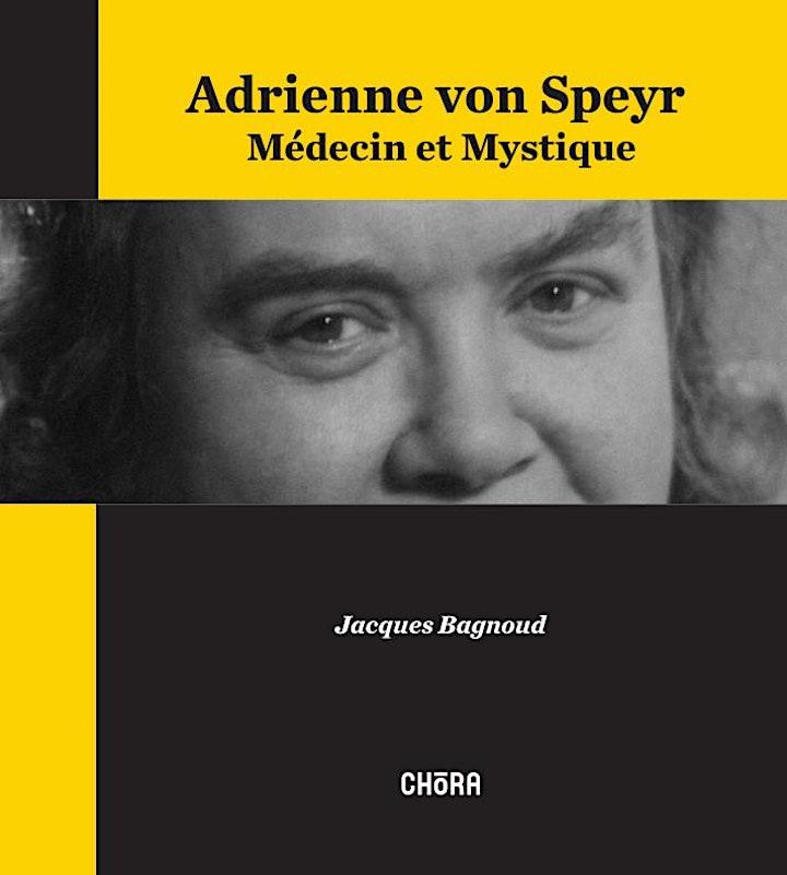 Image pour Conférence avec Jacques Bagnoud - Adrienne von Speyr, Médecin et Mystique
