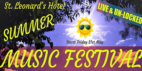 St Leonards Live & Unlocked Summer Music Festival - 3 Day Festival Ticket tickets