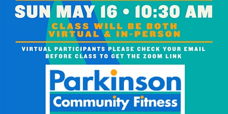 Pints and Poses - May, Parkinson Community Fitness tickets