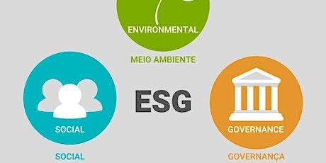Melhores Práticas em ESG Desenvolvimento Corporativo Sustentável bilhetes
