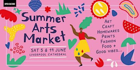 Summer Arts Market - Saturday 19th June 2021 tickets