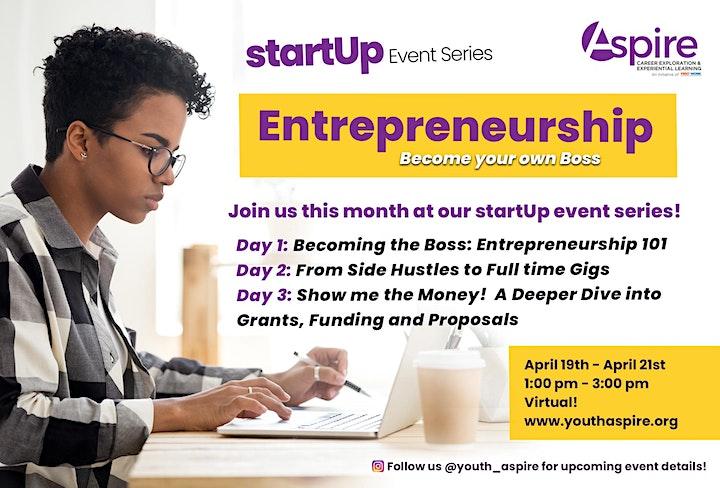 startUp Entrepreneurship Event Series image