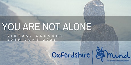 You Are Not Alone - A Virtual Concert tickets