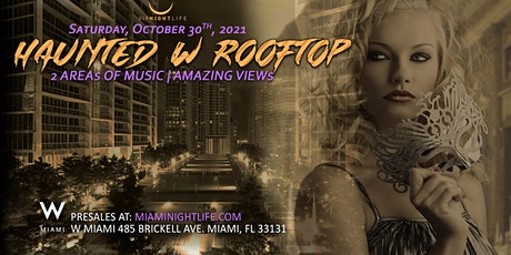 Haunted W Miami Rooftop Halloween Party tickets