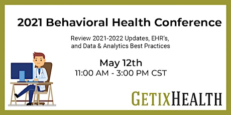2021 Behavioral Health Conference tickets