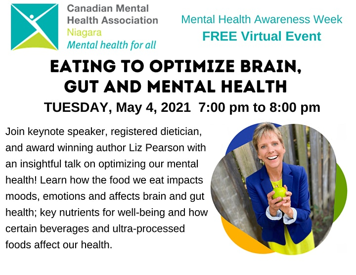 Eating to Optimize Brain, Gut & Mental Health image