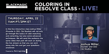 Coloring in Resolve Class - LIVE! tickets