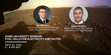 Fuel Cells for Water and Electricity on Mars | Seminar 4 tickets