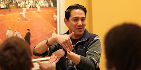 Art Signs Online: An Artful Conversation in ASL tickets
