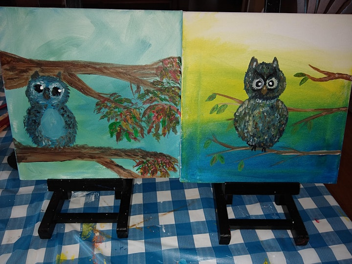 Kids Art Studio pre-teen and teen Painting Wednesdays 4pm - 5pm image