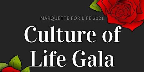 Culture of Life Gala entradas