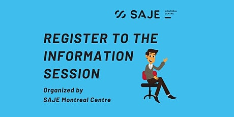 Online Information session tickets