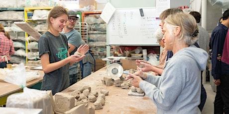 5-week Pottery Sampler (June 6 - July 11) tickets