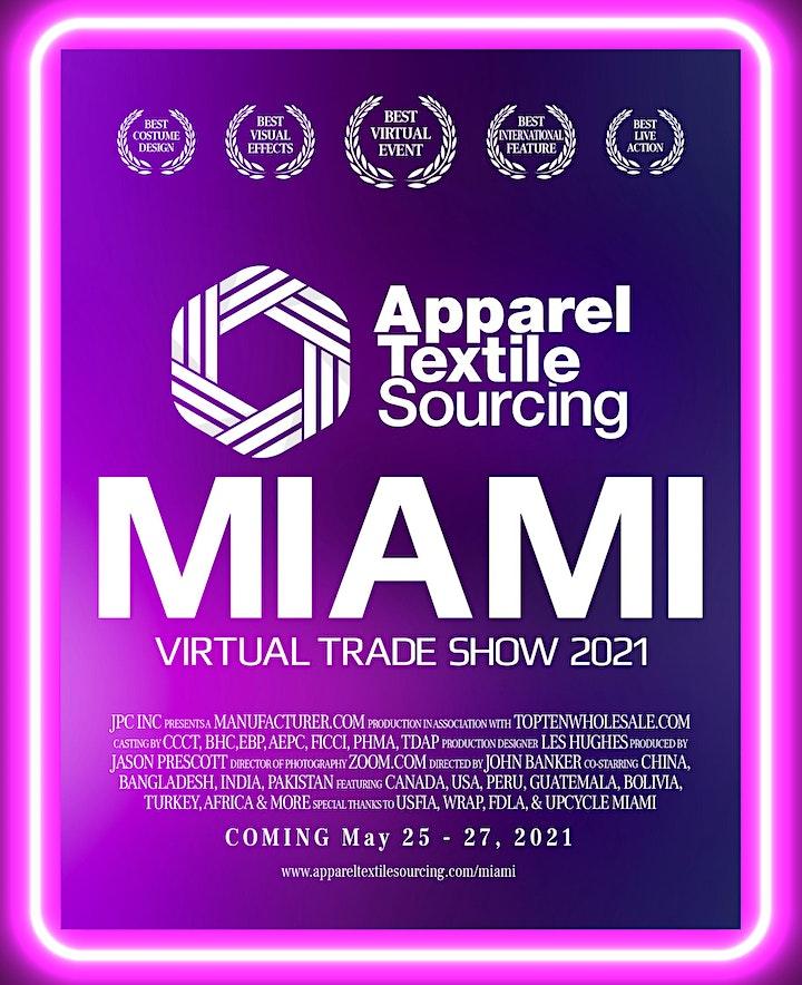 Apparel Textile Sourcing Canada Virtual 2021 image