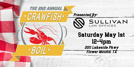 Sullivan Law Offices: Crawfish Boil 2021 tickets