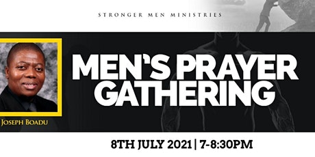 Stronger Men Online Prayer Gathering tickets