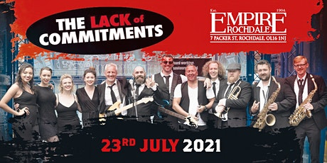 THE LACK OF COMMITMENTS - SOUL - MOTOWN -  LIVE BAND tickets