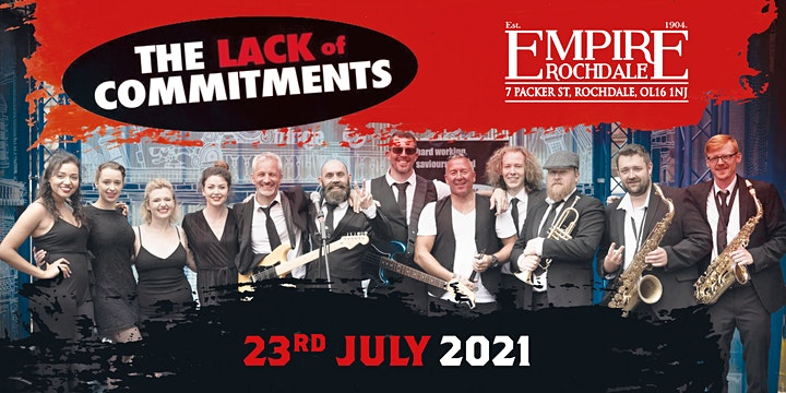 THE LACK OF COMMITMENTS - SOUL - MOTOWN -  LIVE BAND image