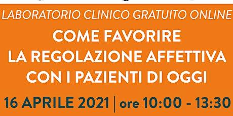 LABORATORIO CLINICO GRATUITO ONLINE biglietti