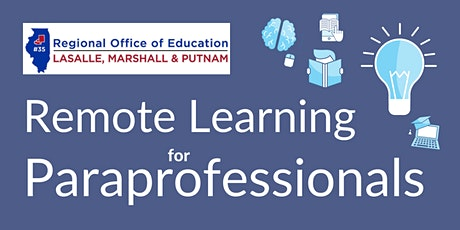 Remote Learning for Paraprofessionals tickets