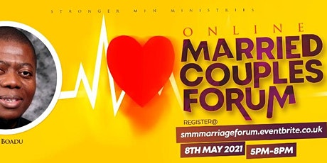 Stronger Men Ministries (SMM) - Married Couples Forum (Online) tickets