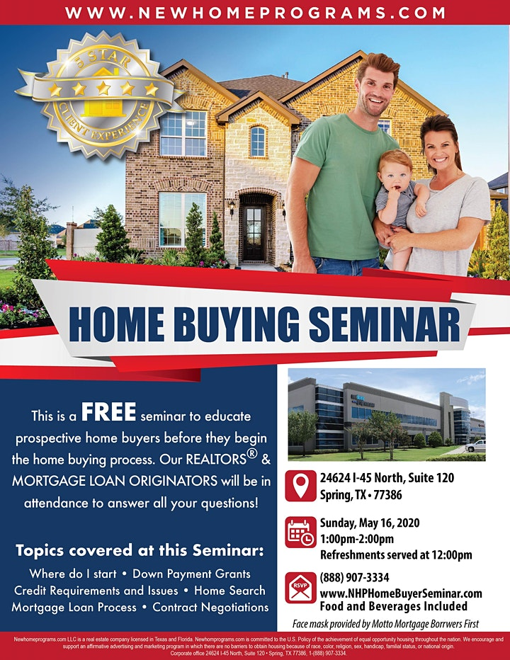 FREE Home Buying Seminar image