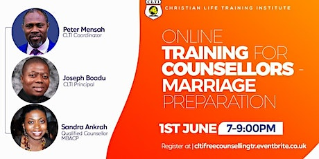 CLTI   General Counselling Training tickets