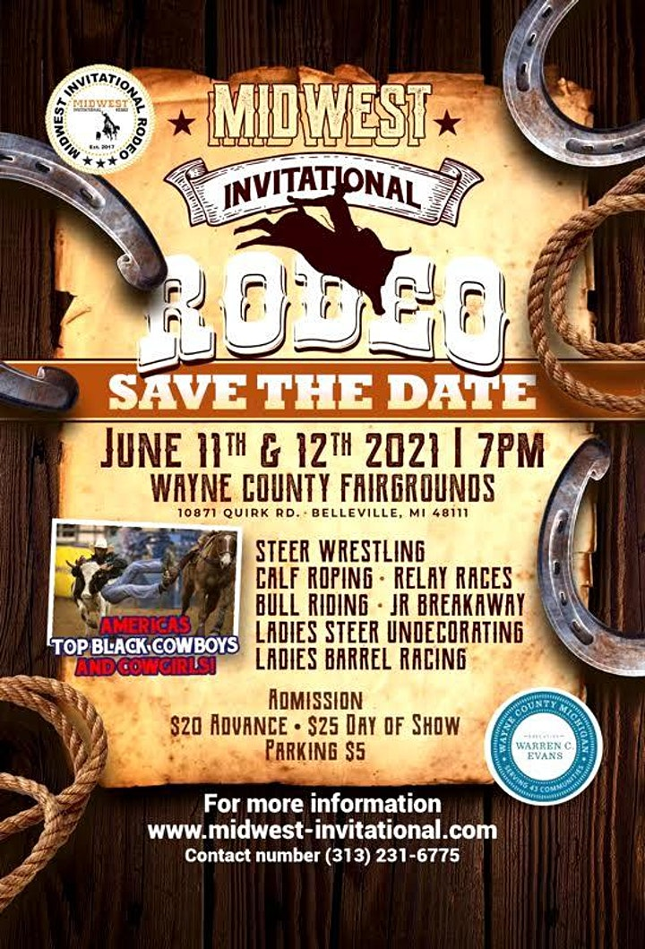 Midwest Invitational Rodeo Pre Sale image