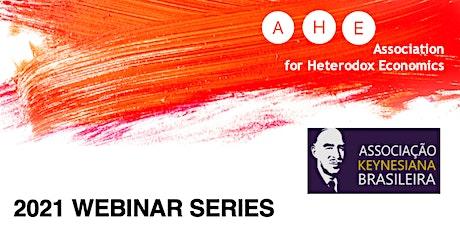 AHE Webinar Series 2021: April (Brazilian Keynesian Association) tickets