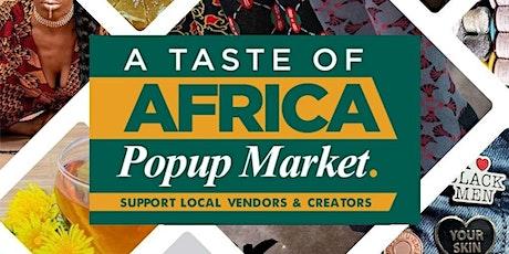Orlando - Taste of Africa Popup Market tickets