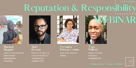 Reputation & Responsibility Webinar tickets