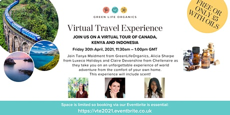 Virtual Travel Experience tickets
