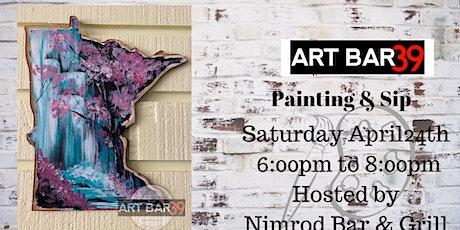 Nimrod Bar & Grill Paint and Sip|Nimrod MN| Monet Falls tickets
