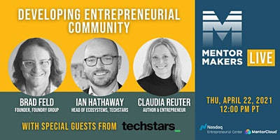 Developing Entrepreneurial Community with Special Guests from Techstars