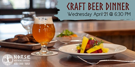 Craft Beer Dinner tickets