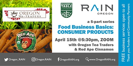 Food Business Basics: CONSUMER PRODUCTS tickets