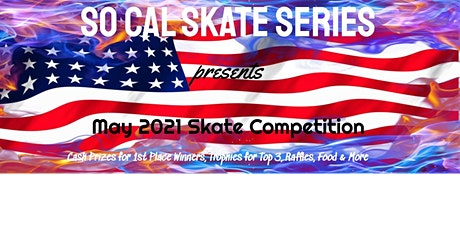 May 2021 Skate Competition tickets