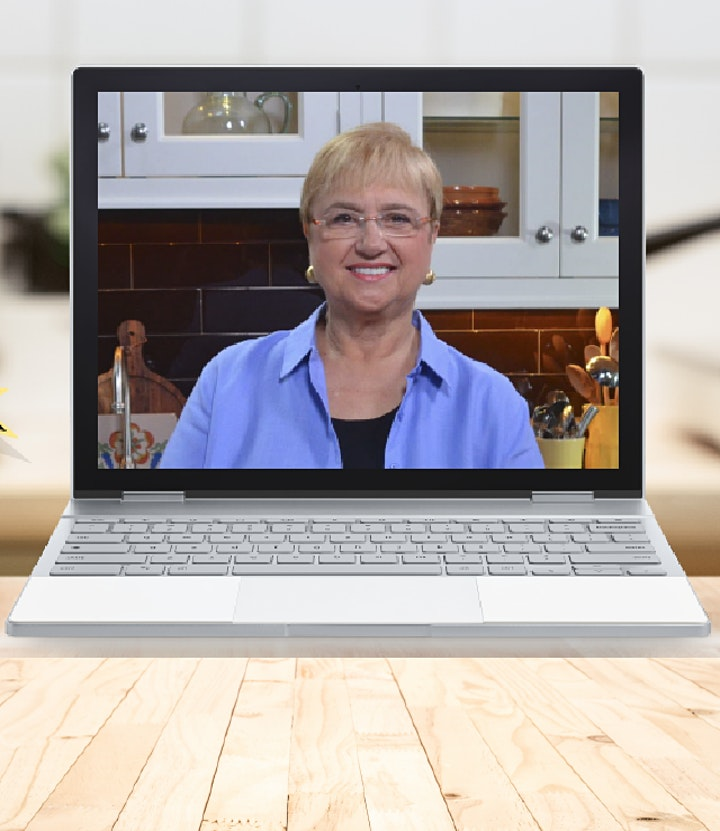 Taste of Fame: Live Virtual Event with Chef Lidia Bastianich image