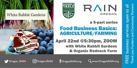 Food Business Basics: AGRICULTURE/FARMING tickets