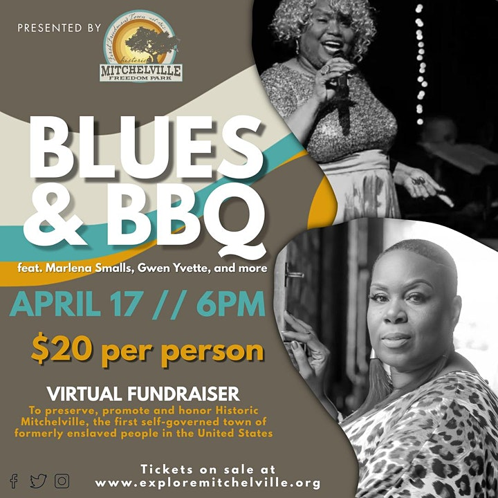 Historic Mitchelville Freedom Park Presents Blues & BBQ image