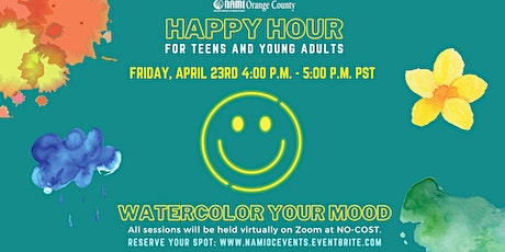 NAMI-OC's Happy Hour: Watercolor Your Mood tickets