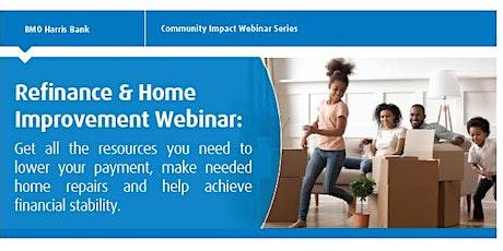 Refinance and Home Improvement Webinar tickets