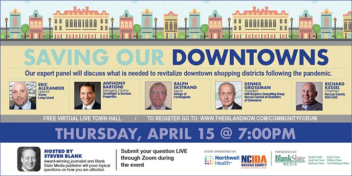 BLANK SLATE MEDIA PRESENTS: SAVING OUR DOWNTOWNS image